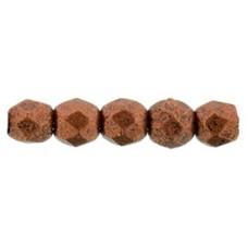 DG-1 Граненые Бусины 2мм Matte - Metallic Dk Copper (K0175JT) - 1200шт