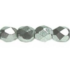 DG-2 Граненые Бусины 3мм Matte - Metallic Silver (K0170JT) - 1200шт