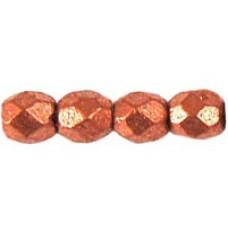 DG-2 Граненые Бусины 3мм Matte - Metallic Copper (K0177JT) - 1200шт