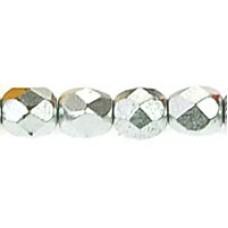 DG-3 Граненые Бусины 4мм Matte - Metallic Silver (K0170JT) - 1200шт