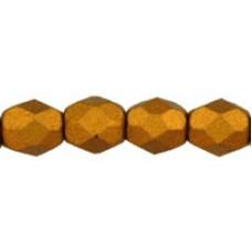DG-3 Граненые Бусины 4мм Matte - Metallic Goldenrod (K0173JT) - 1200шт