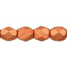 DG-3 Граненые Бусины 4мм Matte - Metallic Copper (K0177JT) - 1200шт