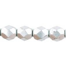 DG-4 Граненые Бусины 6мм Matte - Metallic Silver (K0170JT) - 600шт