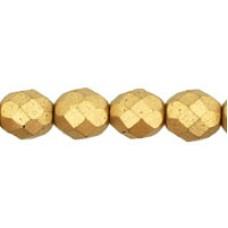 DG-5 Граненые Бусины 8мм Matte - Metallic Flax (K0171JT) - 300шт