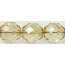 DG-6 Граненые Бусины 10мм Luster - Transparent Champagne (LC00030) - 300шт