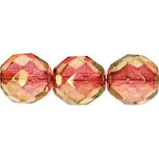 DG-6 Граненые Бусины 10мм Luster - Pink (LK00030) - 300шт