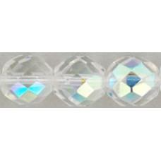 DG-6 Граненые Бусины 10мм Crystal AB (X00030) - 300шт
