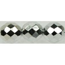 DG-6 Граненые Бусины 10мм Silver (27000CR) - 300шт