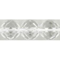 Граненые Бусины 12мм Crystal (00030) - 150шт