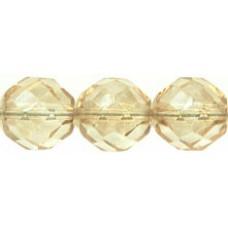 Граненые Бусины 12мм Luster - Transparent Champagne (LC00030) - 150шт