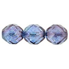 Граненые Бусины 12мм Luster - Transparent Amethyst (LE00030) - 150шт