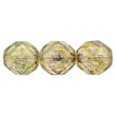 Граненые Бусины 12мм Luster - Transparent Gold/Smokey Topaz (LG00030) - 150шт