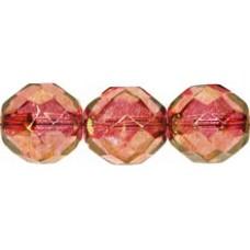 Граненые Бусины 12мм Luster - Pink (LK00030) - 150шт