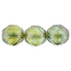 Граненые Бусины 12мм Luster - Transparent Green (LN00030) - 150шт