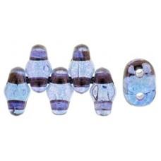 DG-7 MiniDuo бусины 5х2мм Luster - Transparent Amethyst (LE00030) - 50гр