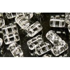 DG-7 Rulla бусины 3х5мм Crystal (00030) - 100гр