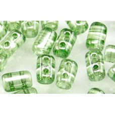 DG-7 Rulla бусины 3х5мм Luster - Transparent Lt Green (LS00030) - 100гр