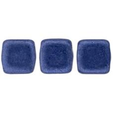 DG-10 Two Hole Tile бусины 6мм Saturated Metallic Navy Peony  (04B05)