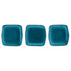 DG-10 Two Hole Tile бусины 6мм Saturated Metallic Shaded Spruce  (04B07)
