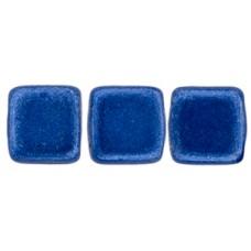 DG-10 Two Hole Tile бусины 6мм Saturated Metallic Marina  (04B09)