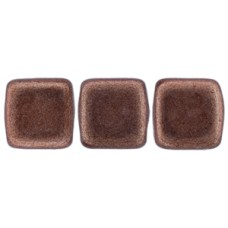 DG-10 Two Hole Tile бусины 6мм Saturated Metallic Autumn Maple  (04B10)