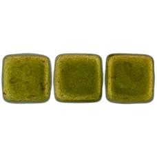DG-10 Two Hole Tile бусины 6мм Saturated Metallic Meadowlark  (05A03)