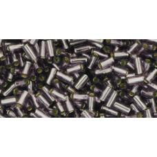 Стеклярус ТОХО 3мм Silver-Lined Tanzanite (39) - 250гр