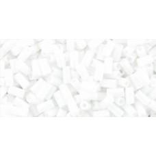 Стеклярус ТОХО 3мм Opaque White (41) - 250гр