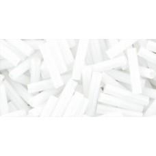 Стеклярус ТОХО 9мм Opaque White (41) - 250гр