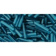 Стеклярус ТОХО 9мм Transparent Capri Blue (7BD) - 250гр