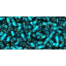 Кубик ТОХО 1,5мм Silver-Lined Teal (27BD) - 250гр