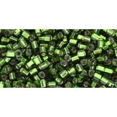 Кубик ТОХО 1,5мм Silver-Lined Olivine (37) - 250гр