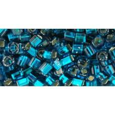 Кубик ТОХО 3мм Silver-Lined Teal (27BD) - 250гр