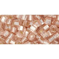 Кубик ТОХО 3мм Silver-Lined Rosaline (31) - 250гр