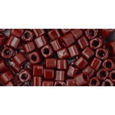 Японский бисер кубик TOHO Beads 3мм Opaque Oxblood (46)