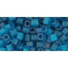 Кубик ТОХО 3мм Transparent-Frosted Teal (7BDF) - 250гр