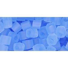 Кубик ТОХО 4мм Transparent-Frosted Lt Sapphire (13F) - 250гр
