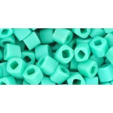 Кубик ТОХО 4мм Opaque-Frosted Turquoise (55F) - 250гр