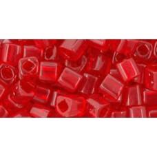 Кубик ТОХО 4мм Transparent Ruby (5C) - 250гр