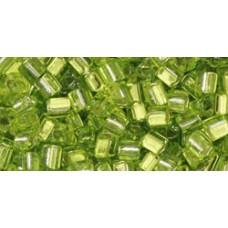 Треугольный ТОХО 8/0 Lime Green (24) - 250гр