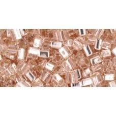 Треугольный ТОХО 8/0 Silver-Lined Rosaline (31) - 250гр