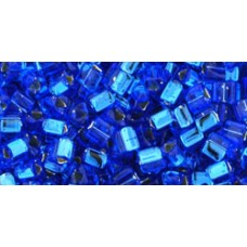 Треугольный ТОХО 8/0 Silver-Lined Sapphire (35) - 250гр