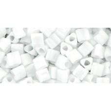 Треугольный ТОХО 8/0 Opaque White (41) - 250гр