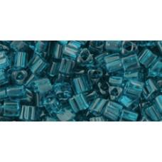 Треугольный ТОХО 8/0 Transparent Capri Blue (7BD) - 250гр
