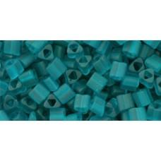 Треугольный ТОХО 8/0 Transparent-Frosted Teal (7BDF) - 250гр