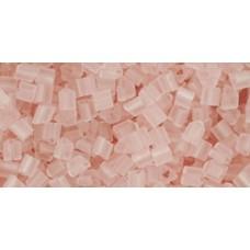 Треугольный ТОХО 11/0 Transparent-Frosted Rosaline (11F) - 250гр