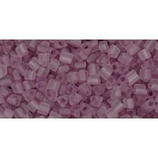 Треугольный ТОХО 11/0 Transparent-Frosted Lt Amethyst (6F) - 250гр