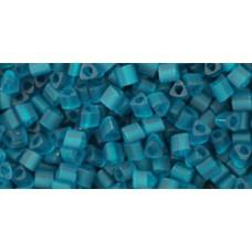 Треугольный ТОХО 11/0 Transparent-Frosted Teal (7BDF) - 250гр