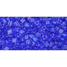Треугольный ТОХО 11/0 Transparent Cobalt (8) - 250гр