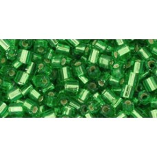 Японская рубка TOHO Beads 8/0 Silver-Lined Peridot (27)